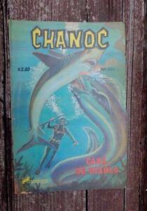 """1978 MEXICAN COMIC CHANOC # 1001 """"CARA DE DIABLO""""  PARODY ED. NOVEDADES"""