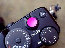 Selens Shutter Button Soft Release Metal Concave Pink Fuji X-T3 X-E3 X-Pro1