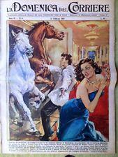 La Domenica del Corriere 22 Febbraio 1959 Ava Gardner Walter Chiari Mac Laine