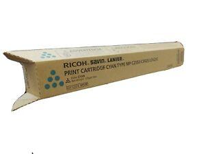 Genuine RICOH/SAVIN/LANIER Print Cartridge CYAN Type MP C2550/C9025/LD525C New