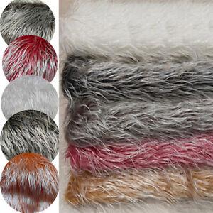 Faux Fur Plush Fabric Sewing Home Chair Sofa Decor Pet Mat Material DIY Crafts