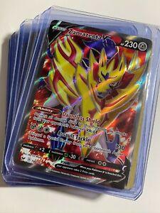 Pokemon Lot Of 10 Zamazenta V 196/202 Ultra + SWSH Reverse / Holos ALL Rares