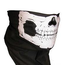 Black Cool Skull Bandana Bike Neck Face Mask Paintball Ski Sport Headband