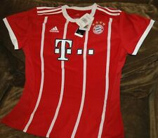 7483251e3d9 FC Bayern Munchen soccer jersey! WOMEN S large NEW with tags Adidas red  futbol