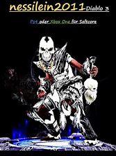 Diablo3 Ps4/Xbox One - Hexendoktor - Zunimassas Schlupfwinkel - URALT - Unmodded