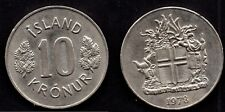 ISLANDE   1 KRONUR 1978  SPLENDIDE