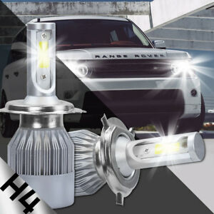 XENTEC H4 9003 LED Headlight Bulb Kit Low Beam 6000K 90W 180000LM White Light
