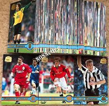 1998 MERLIN PREMIER LEAGUE GOLD SOCCER COMPLETE 150 CARD BASE SET: DAVID BECKHAM