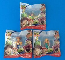 New Disney Toy Story 3 Set Of 3 Figures BUZZLIGHT YEAR, WOODY & BARBIE