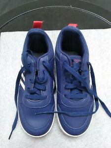 Adidas Boys' Running Shoes 1 Blue White Lace Up Athleticwear 2096