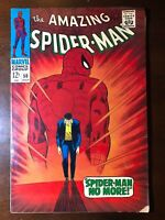 Amazing Spider-Man #50 (1967) - 1st Kingpin! Classic Cover! - Key!