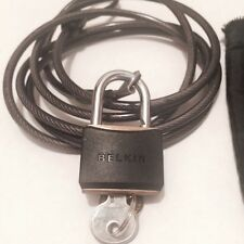Belkin Notebook Security Lock - Security cable lock - black - 6 ft F8E550
