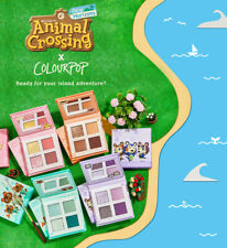 New Colourpop x Animal Crossing True Friends Shadow Makeup Palette Kit In Hand