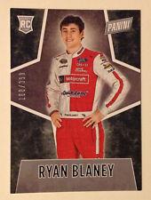 2016 Panini Black Friday RC (#/399 Made) RYAN BLANEY Nascar Racing Rookie #73