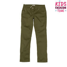 Miss Grant Trousers Size 10-11Y Stretch Garment Dye Zip Fly