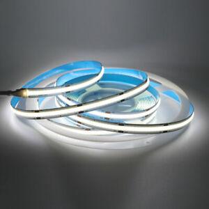 320LED/m Flexible COB LED Strip Lights 12V Rope Cabinet Kitchen Light Dimmer