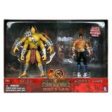 """New Mortal Kombat Goros Lair Goro & Bloody Johnny Cage 5 """" Action Figure 2-Pack"""
