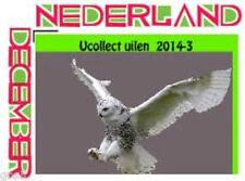 Netherlands  Ucollect owls 3 sneeuwuil christmas weihnachten noell  postfris/mnh