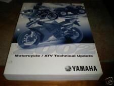 2002 Yamaha Technical Update Manual Motorcycle Atv