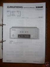 Service Manual Grundig M 100-T Fine Arts Tuner,ORIGINA