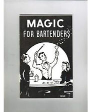 Brand New Book - Magic For Bartenders (Booklet)