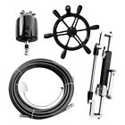 300hp Hydraulic Outboard Steering System Boat Marine Steering Cylinder Helm Kit