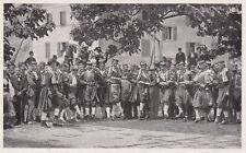 D5508 Bocche di Cattaro - Danza popolare in Costume locale - Stampa - 1932 print
