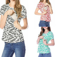 Loose Fashion Maternity Clothes Breastfeeding Nursing Top Women T-shirt Blouse