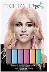 Hair Chalk 6 ColorsTemporary Hair Dye Pixie Lott Paint for Girls Kids Adults