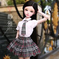 "New 24"" 1/3 Handmade PVC BJD MSD Lifelike Dolls Joint Dolls Girl Gift Jingya"