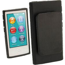 Black TPU Clip GEL Case for Apple iPod Nano 7th Generation 7g Cover Shell