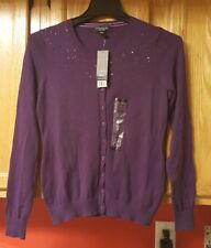 *NWT* Central Park West New York Women's Sequin/Beaded Cardigan/Sweater