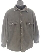 Woolrich Mens Large Classic Hunting Jacket Coat Button Up L Green Corduroy