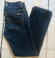 Rave4Real Junior Jeans Size 7 Straight Leg Low Rise