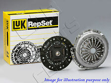 FOR AUDI A3 VW GOLF 2.0 TDi 140 BKD 2PC GENUINE LUK CLUTCH COVER DISC PLATE KIT