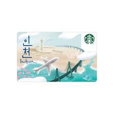 Starbucks Card coffee Korea Starbucks 2019 Incheon City Card gift card