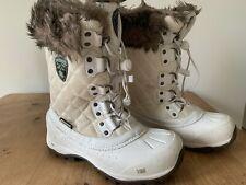 Fabulous Karrimor Women's White Snow Boots - Waterproof Ski Boots - Size 4