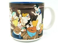Walt Disney Snow White And The Seven Dwarfs Coffee Tea Cup Mug Vintage
