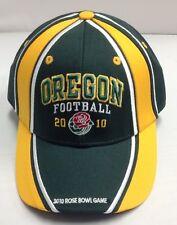 2010 Oregon Ducks Football Rose Bowl SnapBack Hat / Cap