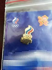 LONDON 2012 OLYMPIC PARALYMPIC  NOC RUSSIAN PIN BADGE TEAM  DATED