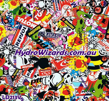 1m² Hydrographic, Hydro Dip Water Transfer Print Graphic, STICKER BOMB LD213V