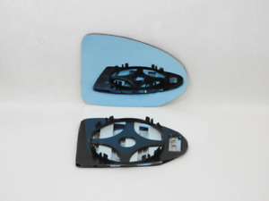 For BMW AC SCHNITZER Wing Mirror Glass Convex BLUE Right /A028 13cm↔ x 9cm↕