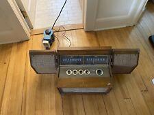 Vintage Motorola Tube Stereo Mini Console  Radio AM FM Rare LOOK