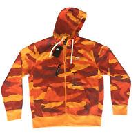 Nike Sportswear NWT Mens Club Fleece Fall Camo Full-Zip Hoodie Sz Medium MSRP$65