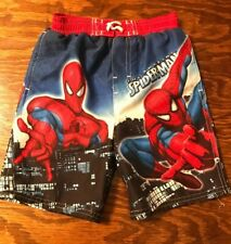 Spiderman Little Boys Swimming Trunks Bathingsuit Infant 24 mo NEW