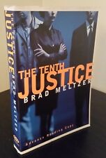 Brad Meltzer - The Tenth Justice inscribed Advance Reading Copy arc proof 1997