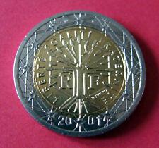 2 euro 2001 Arbre de Vie - - Fauté date dans le coeur de la monnaie en SPL