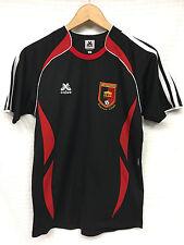 GUC Youth CALVO Soccer Jersey Black Red White Corinthians Club size 14 Peru #1