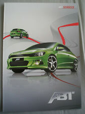 ABT VW Scirocco brochure c2010 German text