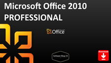 Microsoft Office 2010 Professional Full Version Product Key Download ESD 1PC